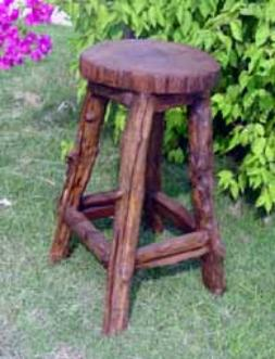 bar stools wagon wheel benches