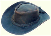 Sombreros, Leather cowboy hats
