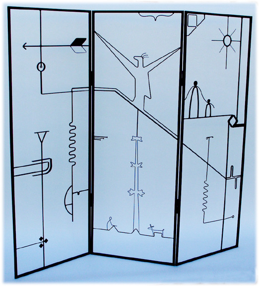 Artistic room dividers divider screens Abstract room dividers