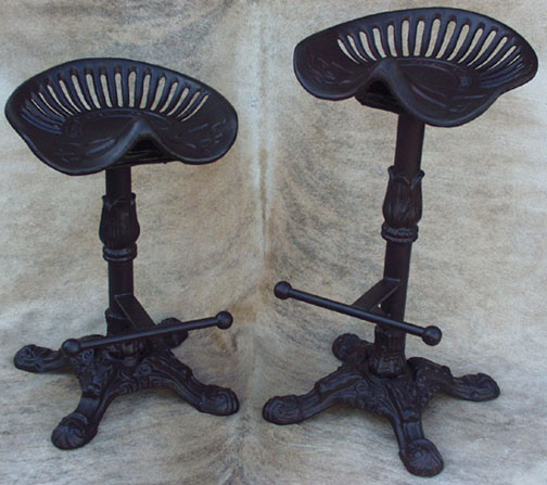 Antique Tractor Seat Bar Stools Tractor Seat Bar Stools For