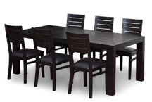 wooden rustic dining table,  mesa de comedor de vaquero