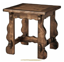 wooden side table, mesita de noche