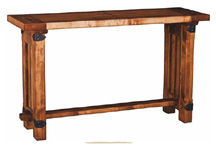 wooden sofa table mesa de entrada
