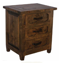 wooden cabinets, night stands, rustic light table, mesita de noche
