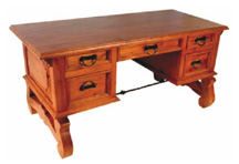 wooden desk, escritorio de madera