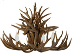 antler lighting, antler chandeliers