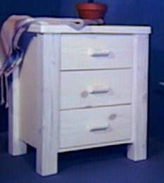 indian 3 drawer night stand