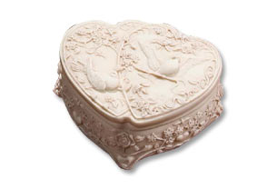 Double Heart Doves b-0540