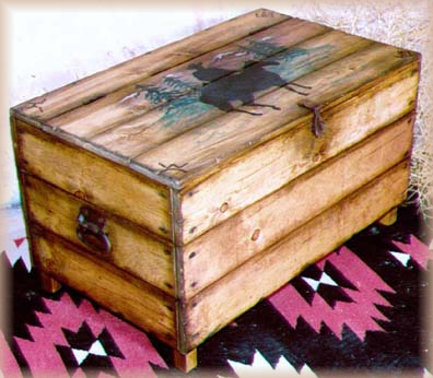 western blanket chest jc032