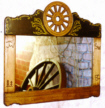 wagon wheel mirrors