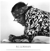 R.C. Gorman Proud Lady