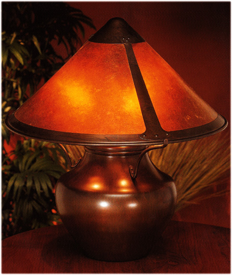 mica small Lodge table lamp #009