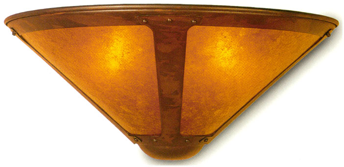 mica wall sconce #120 and 121