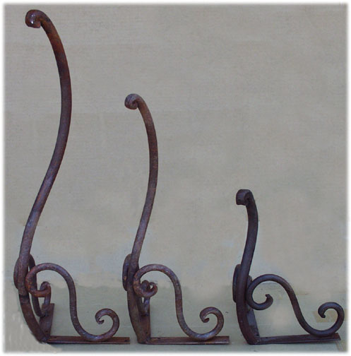 Iron Table Legs : Forged iron table legs furniture legs