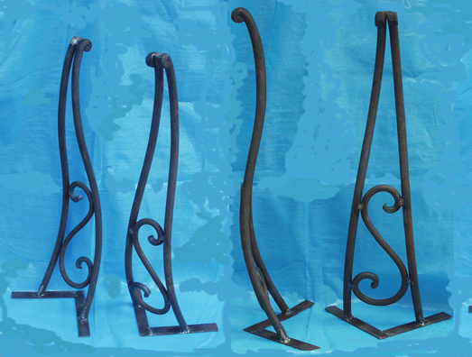 Forged Iron Legs