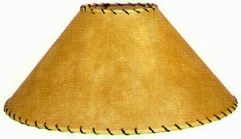 900 017 natural parchment with leather trim lamp shades 900016 22 parchment lamp shades aloadofball Images
