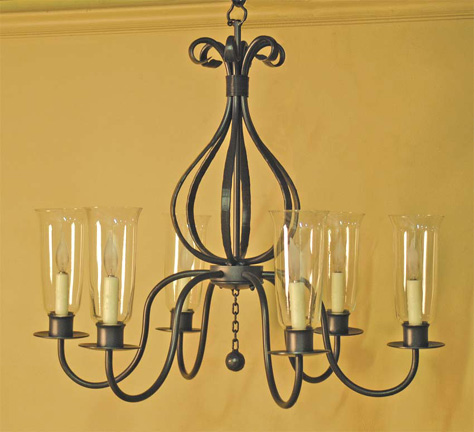 Williamsburg Carriage Chandelier