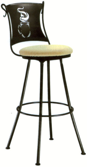 Coffee Cup Bar and Counter Stools