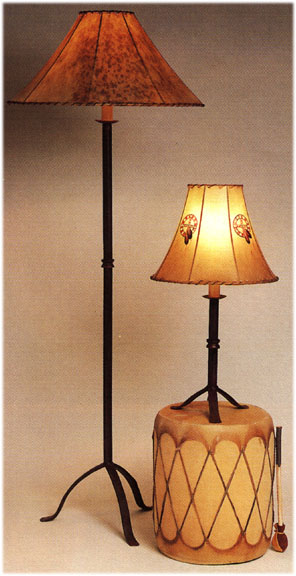 Iron Lamps