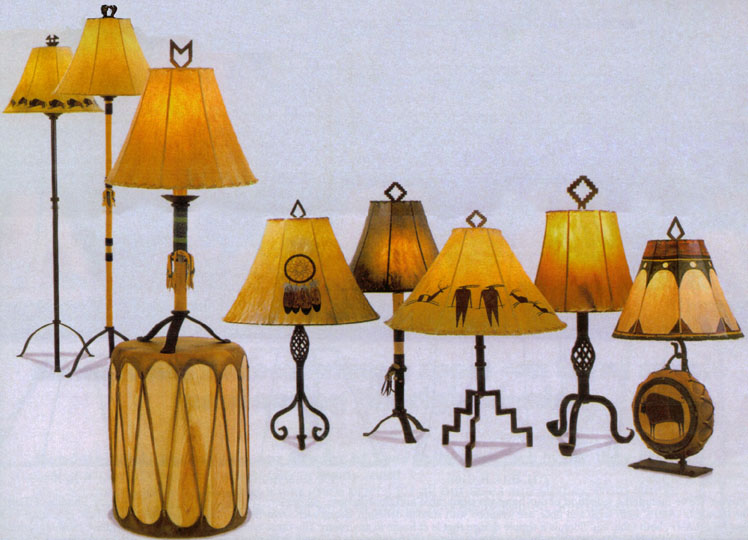 Native American Lamps