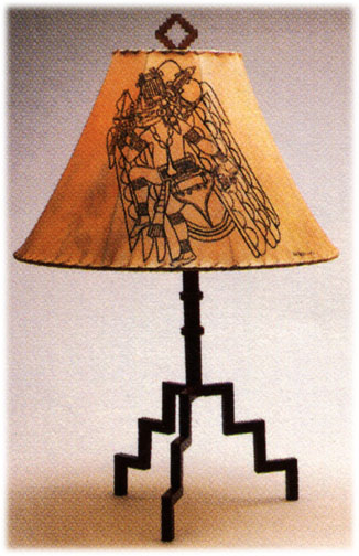 bird cage flame Iron Lamps
