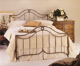 wrought iron beds, iron beds, forged iron beds