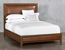 Wesley allen beds Avery with side fabric