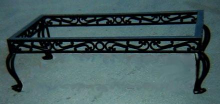 arte y diseno wrought iron coffee table base