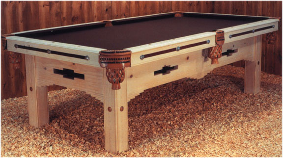 Southwest Billiard Santa Fe Handmade Custom Pool Tables Tables - Handmade pool table