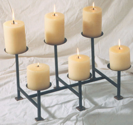 fireplace candle holder 30725