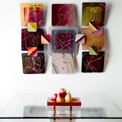 Acrylic Pollack Wall Sculptures WPK