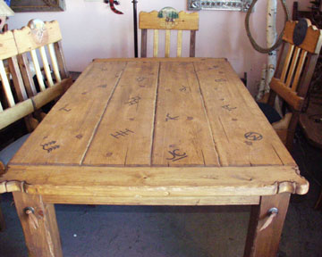 JC Schahrer Western Table