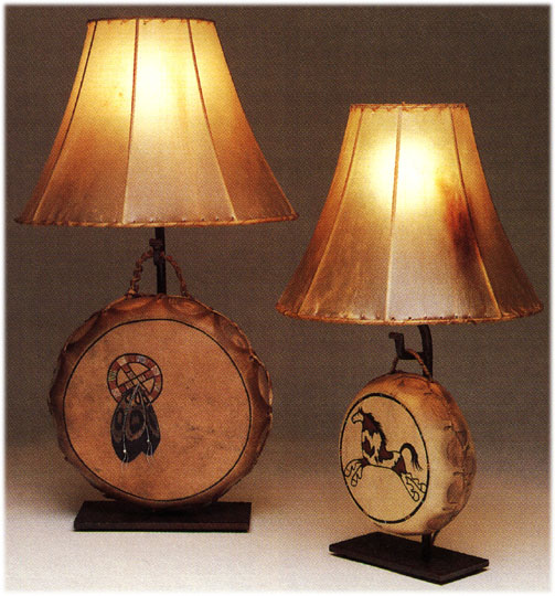Native american drum lamps prices drum lamps aloadofball Gallery