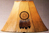 Raw hide painted all natural lamp shades for sconces chandeliers raw hide hand painted lamp shades aloadofball Gallery