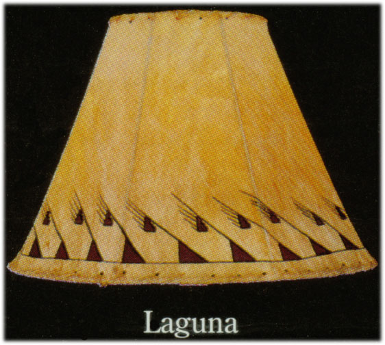 Hand painted limited edition lamp shades laguna native american hand painted limited edition lamp shades laguna native american indian artifacts aloadofball